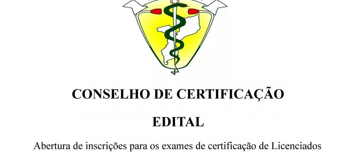 Abertura-de inscrições para os exames de certificação de Licenciados em Medicina Geral e Licenciados em Medicina Dentária