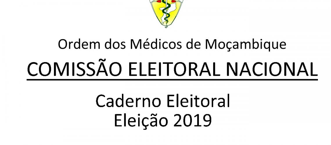 Caderno Eleitoral