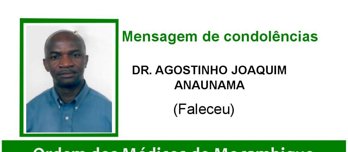 DR. AGOSTINHO JOAQUIM ANAUNAMA