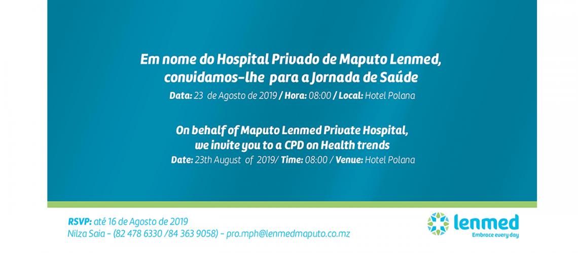 convite hospital Privado